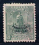 Nicaragua Scott # O135, used,