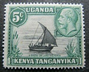 KENYA UGANDA AND TANGANYKA 1935-37 1c SG 111 MH* A4P39F44