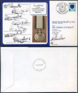 DM9b Award of the Conspicuous Gallantry Medal Signed by Chambers (I)
