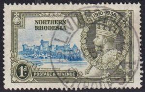 Northern Rhodesia 1935 SG18 Used