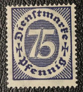 Germany #O14 unused