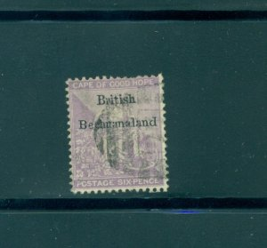Bechuanaland - Sc# 8. 1885 6p Used. $47.50.