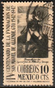 MEXICO 783, 10c San Miguel de Allende 400th Anniv Used. F-VF. (750)