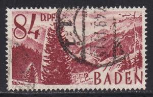 Germany - Baden # 5N26, Used, 1/3 Cat.