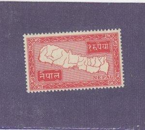 NEPAL # 82 VF-MVLH CAT VALUE $50