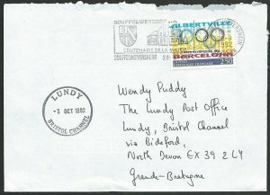FRANCE TO LUNDY 1992 cover - arrival cds...................................48807