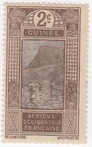 French Guinea, Scott # 64 (3), MH