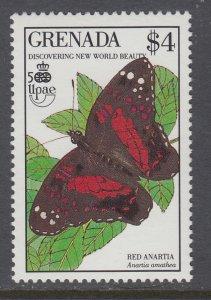 Grenada 1817 Butterfly MNH VF