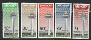 SINGAPORE #382-6 MINT LIGHTLY HINGED COMPLETE