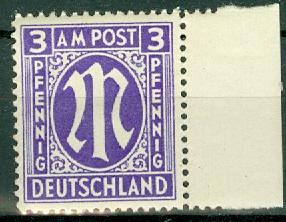 Germany - Allied Occupation - AMG - 3N2b MNH