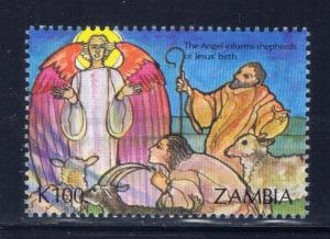 Zambia 589 MNH 1992 Angels and Shepherds