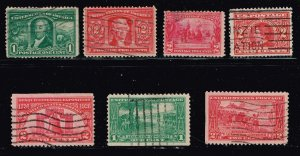 US STAMP  20TH OLD USED STAMP COLLECTION LOT