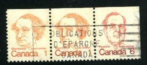 Canada 586as   u VF 1974 PD