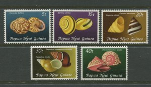 STAMP STATION PERTH Papua New Guinea #549-553 Pictorial Definit CTO 1981 CV$2.50