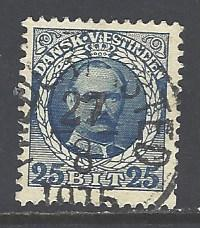 Danish West Indies 47 used (RS)