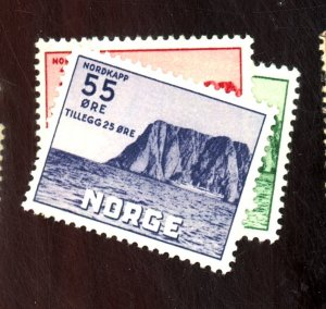 NORWAY #B54-6 MINT FVF OG LH Cat $52