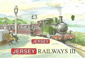 Great Britain - Jersey   SSS    Railway   Mint NH VF 2009  PD