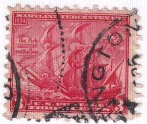 United States, Scott # 736,  Used