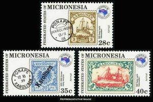 Micronesia Scott C4-C6 Mint never hinged.