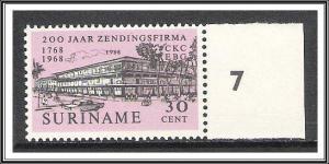 Suriname #358 C Kersten & Co MNH