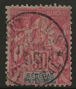Senegal (1892)  - Scott # 49,  Used