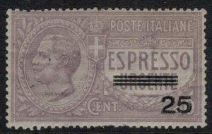 Italy #E9*  CV $40.00
