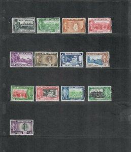 Montserrat Sc#114-126 M/NH/VF, Cv. $71.15