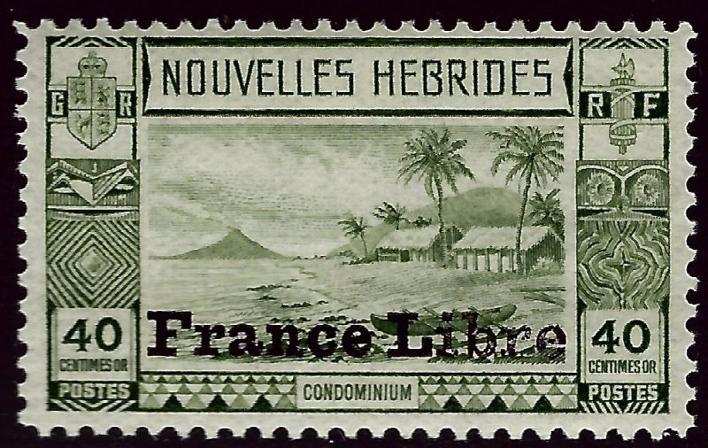 French New Hebredes SC#73 F-VF Mint SCV$12.50.....Prices are Rising!