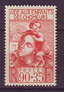 J24626 JLstamps 1939 france set of 1 mh #b84 mother child