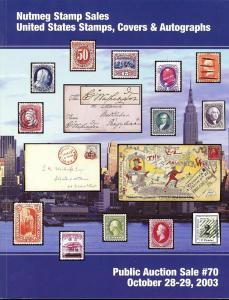 Nutmeg Stamp Sales - United States Stamps, Covers and Aut...