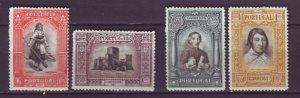 J22060 Jlstamps 1927 portugal hv,s of a set mh #433-6 designs