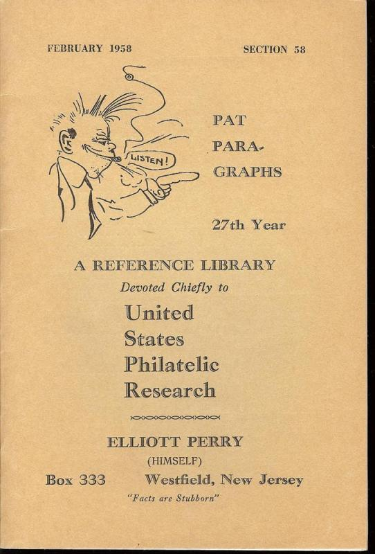 Pat Para-Graphs, 27th Year, A Reference Library Devoted C...
