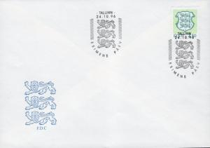 ESTONIA SCOTT 317 FDC