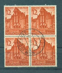 Germany sc# 493 bl/4 used cat value $3.20