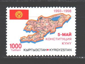 Kyrgyzstan. 1998. 166. 5 years of the Constitution. MNH.