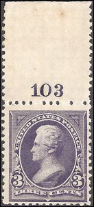 253 Mint,OG,NH... SCV $360.00... Plate# single