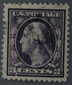 United States #333 3 Cent Washington Used