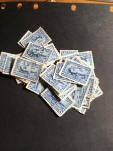 Canada #C7 (100) Used USC Cat. $100-$200. 1942 6c War Airmail Some CDS F Avg