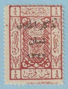 SAUDI ARABIA - HEJAZ L42  MINT LIGHTLY HINGED OG * NO FAULTS EXTRA FINE!