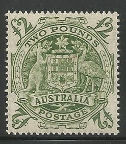 AUSTRALIA 221, MINT HINGED STAMP, ARMS OF AUSTRALIA