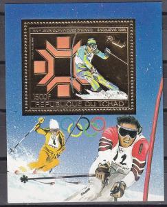 1983Chad975/B161gold1984 Olympiad Sarajevo12,00 €