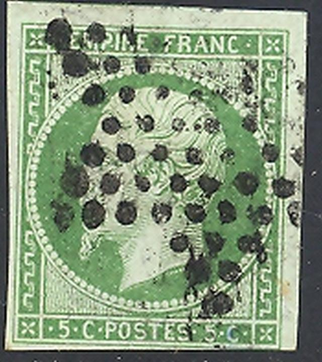 France #13 Used VF - Lakeshore Philatelics
