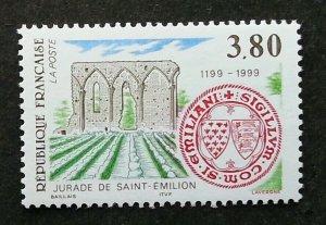 France Saint1999 (stamp) MNH *recess effect