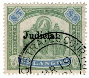 (I.B) Malaya States Revenue : Selangor Judicial $5
