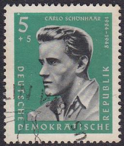 Germany DDR 1961 SG E588 Used