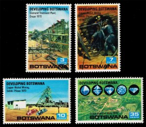 Botswana #58-61 Development Program Set of 4; MNH (5Stars)