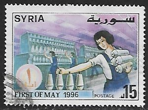 Syria # 1371 - Labor Day - used.....{Gn16}