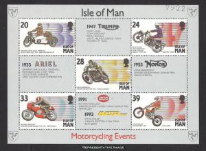 Isle of Man Scott 566a Mint never hinged.