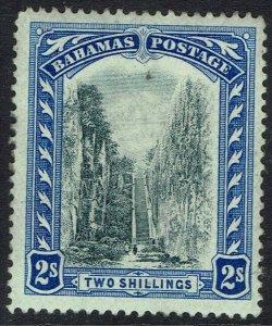 BAHAMAS 1901 QUEEN'S STAIRCASE 2/- WMK CROWN CC
