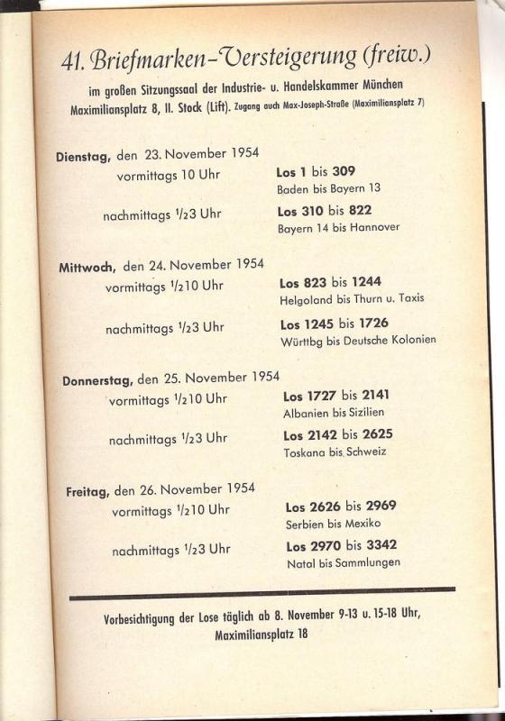 Larish: Sale # 41  -  41. Versteigerung, A. Larish-Munche...